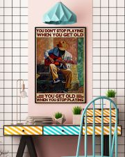 Guitar You Don't Stop 24x36 Poster lifestyle-poster-6