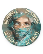 Physician Be Badass  Circle ornament - single (porcelain) front