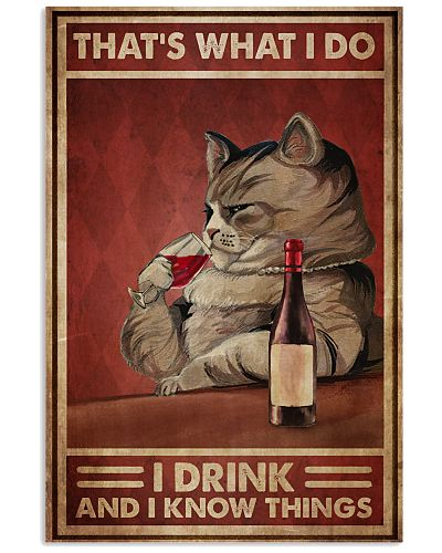 Cat Drink Know Things