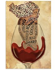 Girl In Wine Glass 24x36 Poster front