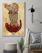 Girl In Wine Glass 24x36 Poster lifestyle-poster-1