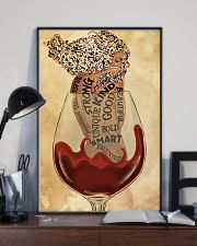 Girl In Wine Glass 24x36 Poster lifestyle-poster-2