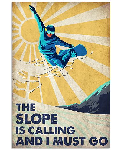 Skiing Slope Calling