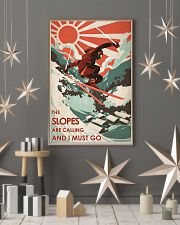 The Slopes Are Calling And I Must Go 24x36 Poster lifestyle-holiday-poster-1