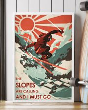 The Slopes Are Calling And I Must Go 24x36 Poster lifestyle-poster-4