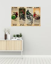 Snowcross Be Badass 36x24 Poster poster-landscape-36x24-lifestyle-01