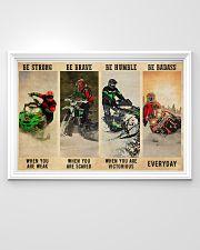 Snowcross Be Badass 36x24 Poster poster-landscape-36x24-lifestyle-02