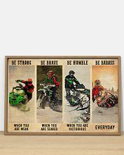 Snowcross Be Badass 36x24 Poster poster-landscape-36x24-lifestyle-03