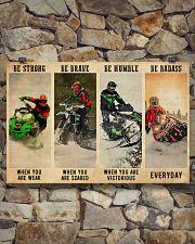 Snowcross Be Badass 36x24 Poster poster-landscape-36x24-lifestyle-15