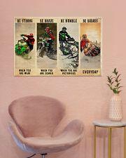 Snowcross Be Badass 36x24 Poster poster-landscape-36x24-lifestyle-19