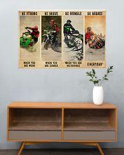 Snowcross Be Badass 36x24 Poster poster-landscape-36x24-lifestyle-21
