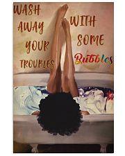 Melanin Girl Bathbomb 24x36 Poster front