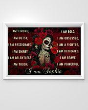 Sugar Skull I Am 36x24 Poster poster-landscape-36x24-lifestyle-02