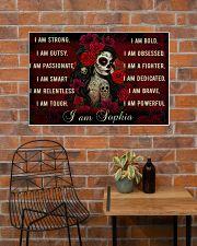 Sugar Skull I Am 36x24 Poster poster-landscape-36x24-lifestyle-20