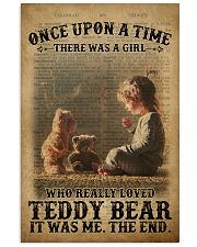 Girl Teddy Bear Dictionary 24x36 Poster front