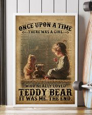 Girl Teddy Bear Dictionary 24x36 Poster lifestyle-poster-4