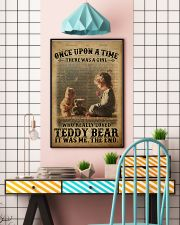 Girl Teddy Bear Dictionary 24x36 Poster lifestyle-poster-6