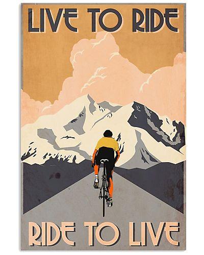 Cycling Live To Ride Retro