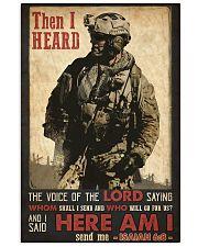 Veteran Lord Send Me Vertical Poster tile