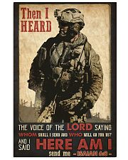 Veteran Lord Send Me 24x36 Poster front