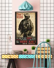 Veteran Lord Send Me 24x36 Poster lifestyle-poster-6