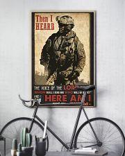 Veteran Lord Send Me 24x36 Poster lifestyle-poster-7