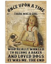 Girl Baking Dogs Once Upon A Time  24x36 Poster front
