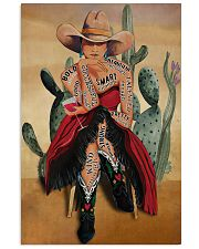 Cowgirl and Wine I Am Enough 24x36 Poster front