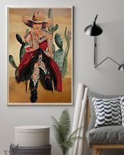 Cowgirl and Wine I Am Enough 24x36 Poster lifestyle-poster-1