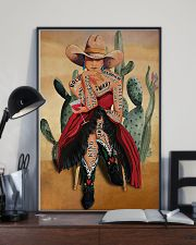 Cowgirl and Wine I Am Enough 24x36 Poster lifestyle-poster-2