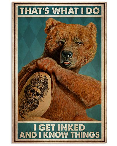 Bear Get Inked And Know Things