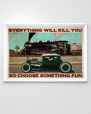 Rat Rod Racing Train 36x24 Poster poster-landscape-36x24-lifestyle-02