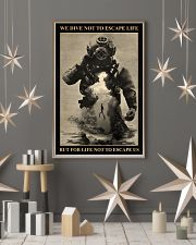 Dive To Escape Life 24x36 Poster lifestyle-holiday-poster-1