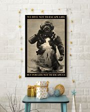 Dive To Escape Life 24x36 Poster lifestyle-holiday-poster-3