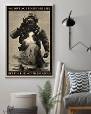 Dive To Escape Life 24x36 Poster lifestyle-poster-1