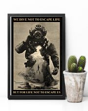 Dive To Escape Life 24x36 Poster lifestyle-poster-8
