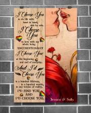 Lesbian Kiss I Choose You 24x36 Poster aos-poster-portrait-24x36-lifestyle-18
