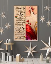 Lesbian Kiss I Choose You 24x36 Poster lifestyle-holiday-poster-1