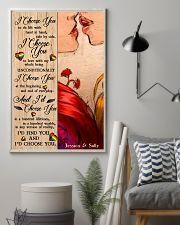 Lesbian Kiss I Choose You 24x36 Poster lifestyle-poster-1