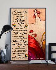 Lesbian Kiss I Choose You 24x36 Poster lifestyle-poster-2