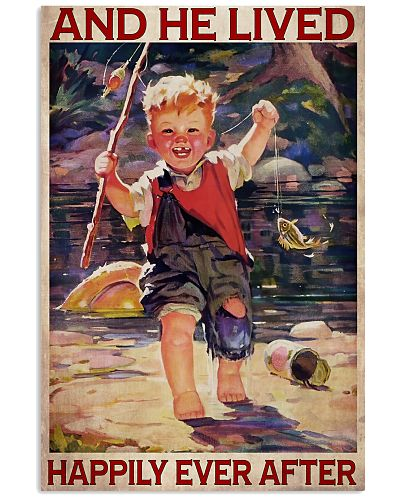 Boy Fishing Happily Ever After 2