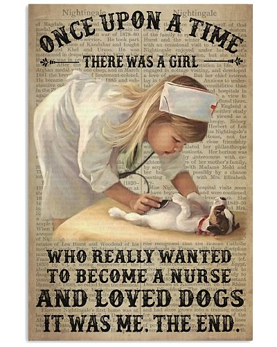Girl Nurse And Dog Dictionary