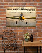 Crop Duster While On This Flight - B 36x24 Poster poster-landscape-36x24-lifestyle-20