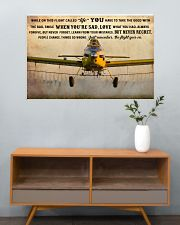 Crop Duster While On This Flight - B 36x24 Poster poster-landscape-36x24-lifestyle-21