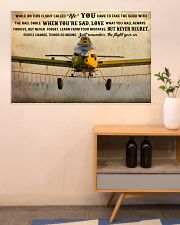 Crop Duster While On This Flight - B 36x24 Poster poster-landscape-36x24-lifestyle-22