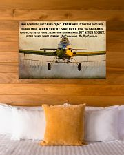 Crop Duster While On This Flight - B 36x24 Poster poster-landscape-36x24-lifestyle-23