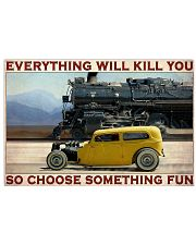 Car And Steam Choose Something Fun 36x24 Poster front