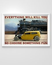 Car And Steam Choose Something Fun 36x24 Poster poster-landscape-36x24-lifestyle-02