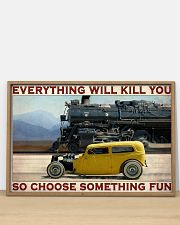 Car And Steam Choose Something Fun 36x24 Poster poster-landscape-36x24-lifestyle-03