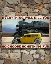 Car And Steam Choose Something Fun 36x24 Poster poster-landscape-36x24-lifestyle-15